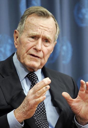 george bush sr welfare king