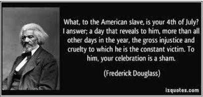 The meaning of july fourth for the negro counter for What does 4th of july mean