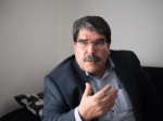 Image: 0178239284, License: Rights managed, Salih Muslim, co-president of the Syrian Kurdish Democratic Union Party (PYD), speaks during an interview in Marseille, southern France, on December 1, 2013. PYD, the biggest Kurdish armed group, wants to establish an autonomous Kurdish state within a federal Syria and a commission is already writing the constitution of this potential state, Muslim told AFP. Syrian Kurds in the war-torn country's northeast announced last month the formation of a transitional autonomous administration after making key territorial gains against jihadists. But several major Kurdish groups have not signed on to the declaration, which comes amid a general strengthening of Kurdish rights in neighbouring Turkey, and increasing moves towards independence by Iraq's own autonomous Kurdish region., Place: FRANCE, Model Release: No or not aplicable, Credit line: Profimedia.com, AFP