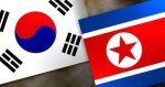 north-and-south-korean-flags