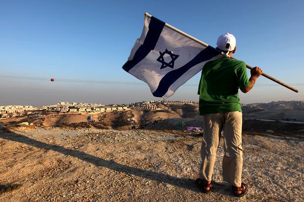 Settlements-israeli-flag