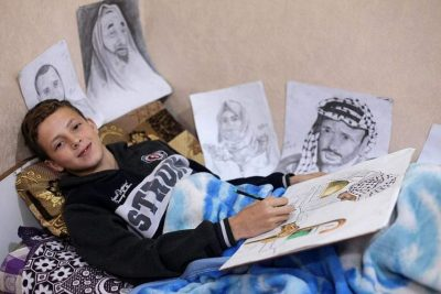 "3bf0ef8a8b6a2 13-year-old Gaza Artist Shot by Israeli Soldiers While ""Calling for Our  Basic Right to Live a Decent Life"" – Counter Information"