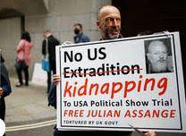 Empire's mask slips at Julian Assange trial Julian-show-trial